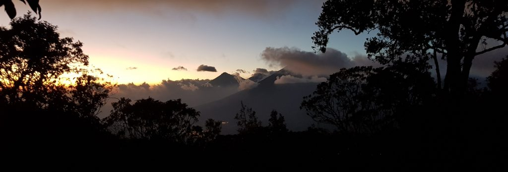 wulkan, Pacaya, trekking