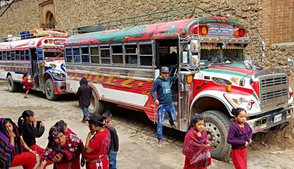 Bezpieczeństwo w Gwatemali, chiceknbus bezpieczeństwo